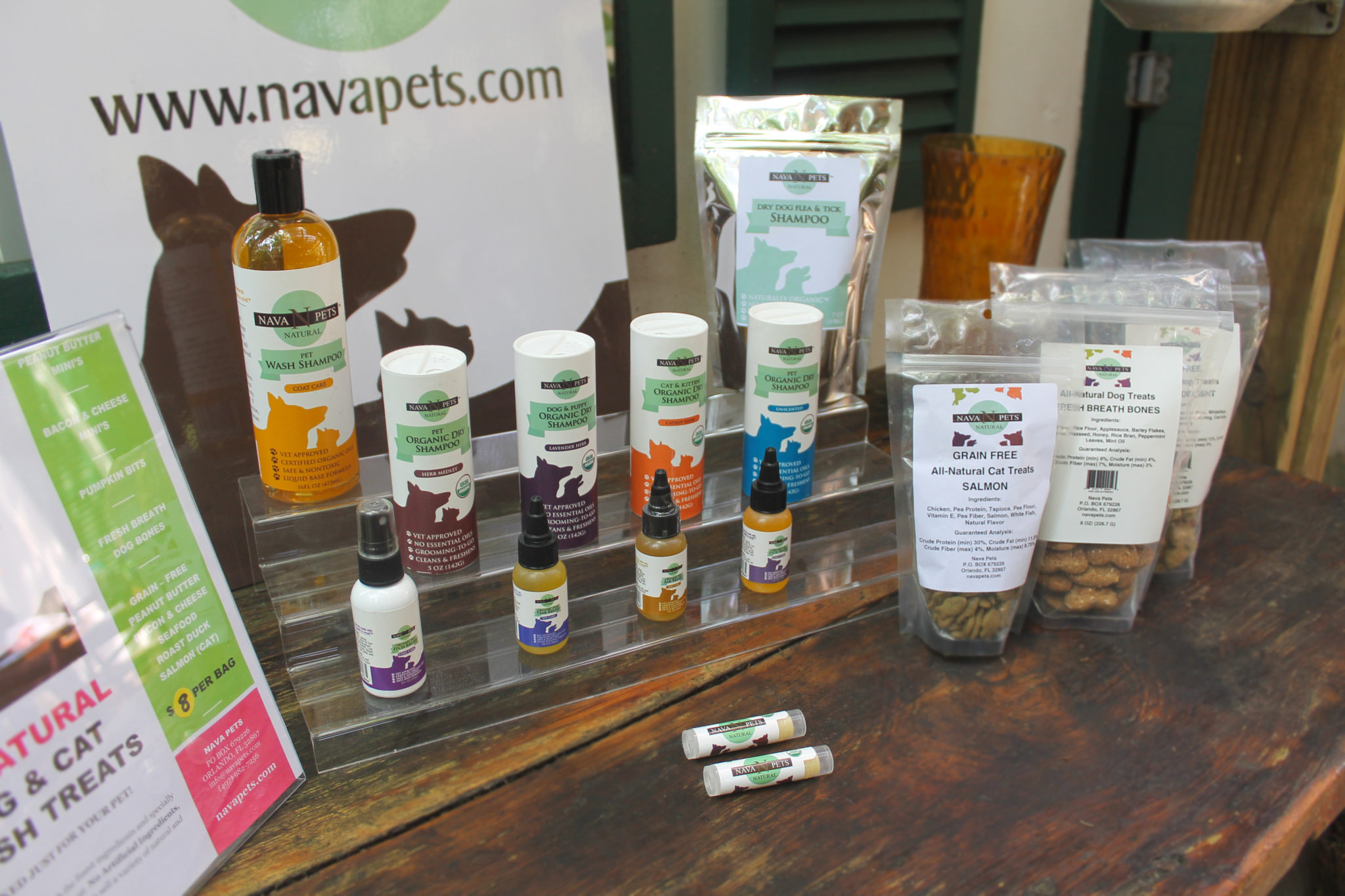Organic pet care founder, Nava Pet products