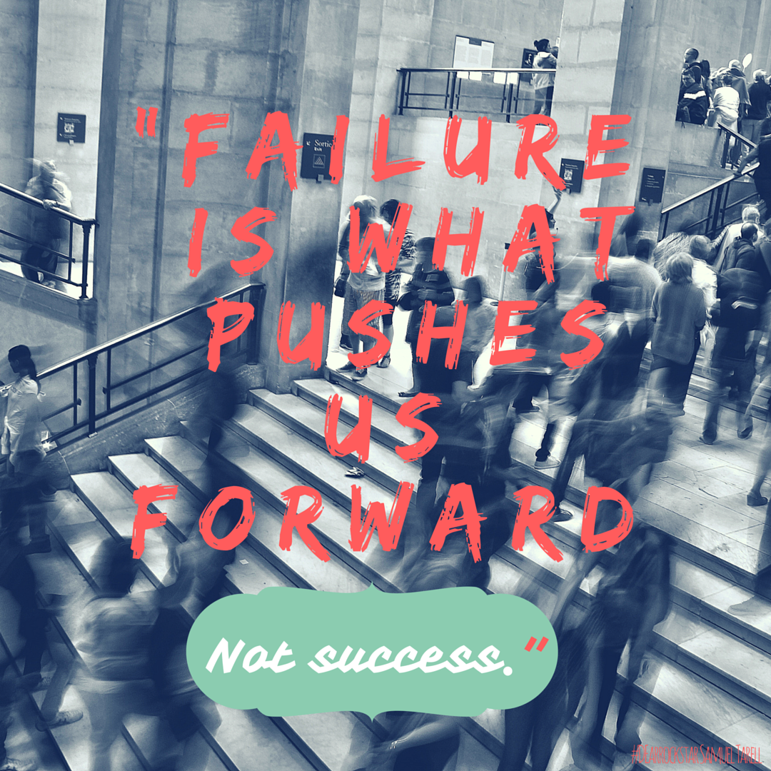 Young entrepreneur reminds us failure pushes us forward