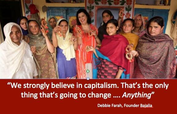 Putting money in the hands of women, social entrepreneur Debbie Farah