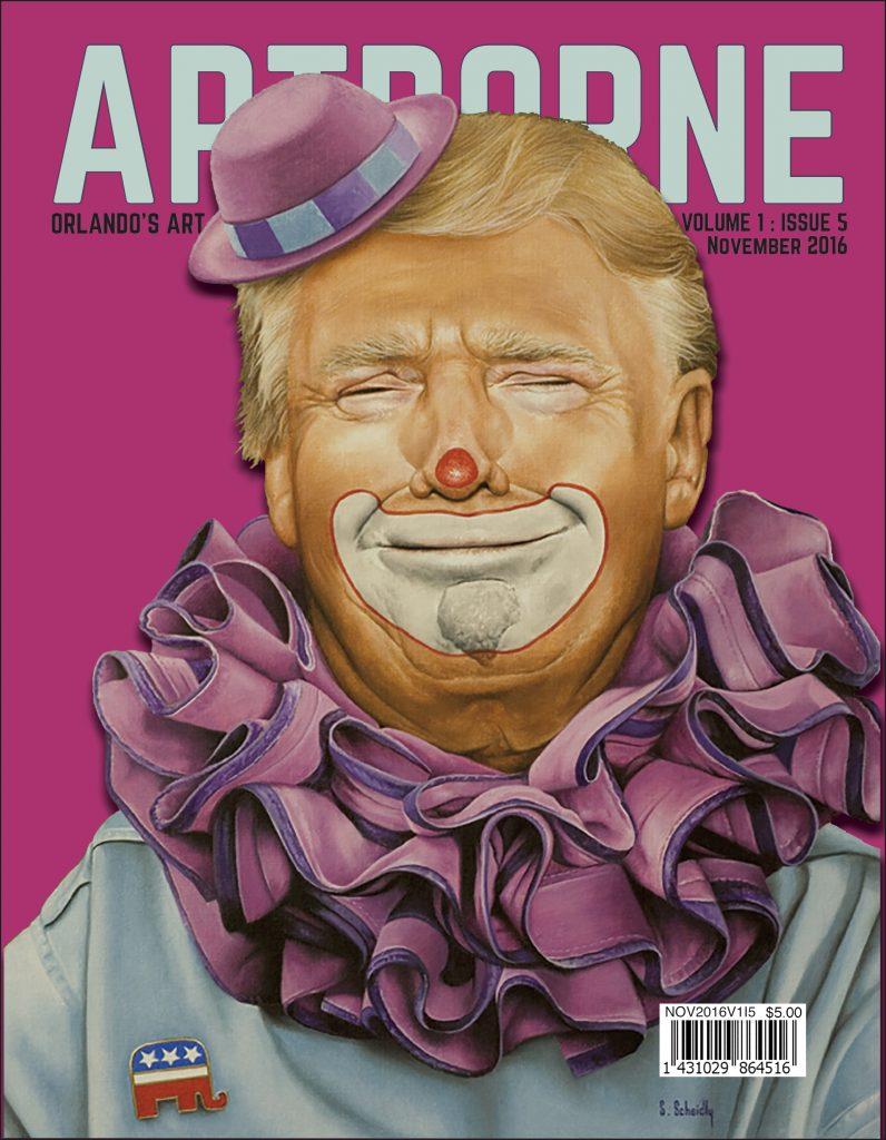 Artist launches Artborne Magazine