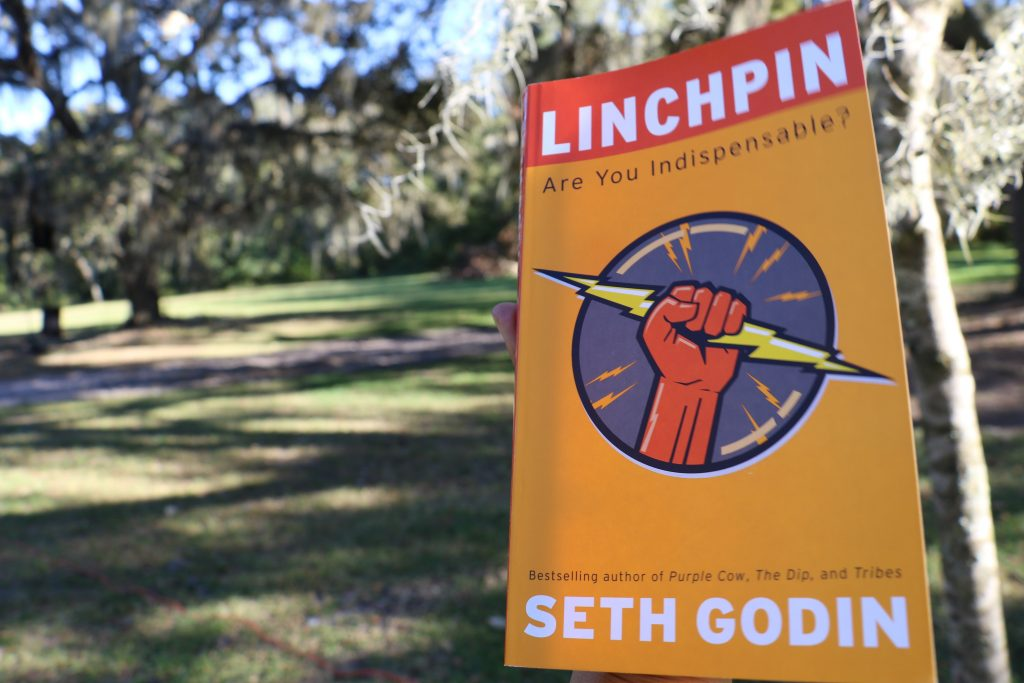 catching up with Asia Hall and finding out her favorite book; Linchpin