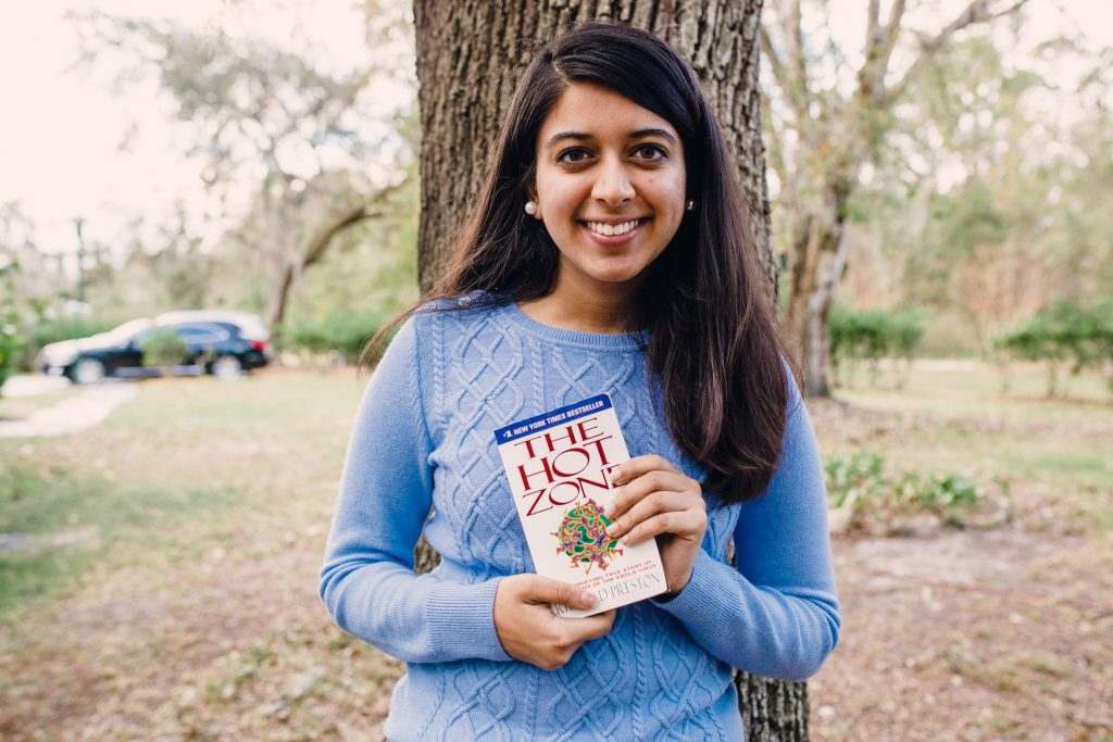 High School Senior, young entrepreneur launches company and shares the book that most impacted her