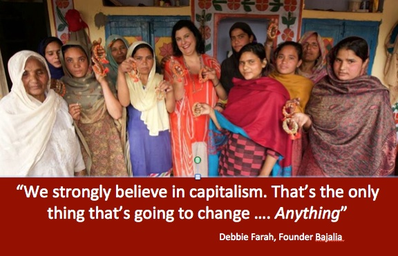 Putting money in the hands of women, social entrepreneur Debbie Farah