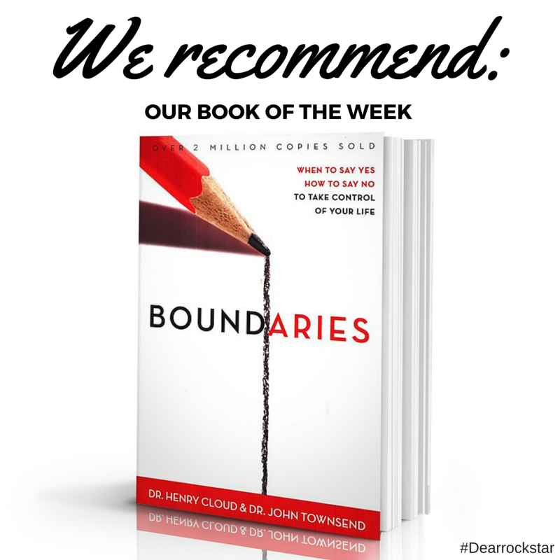 Young entrepreneur discusses the power of no, we recommend Boundaries the book